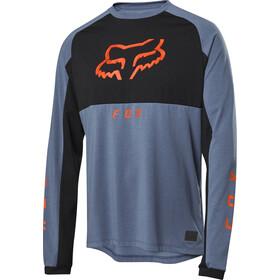 Fox Ranger Dri-Release Mid LS Jersey Men blue steel
